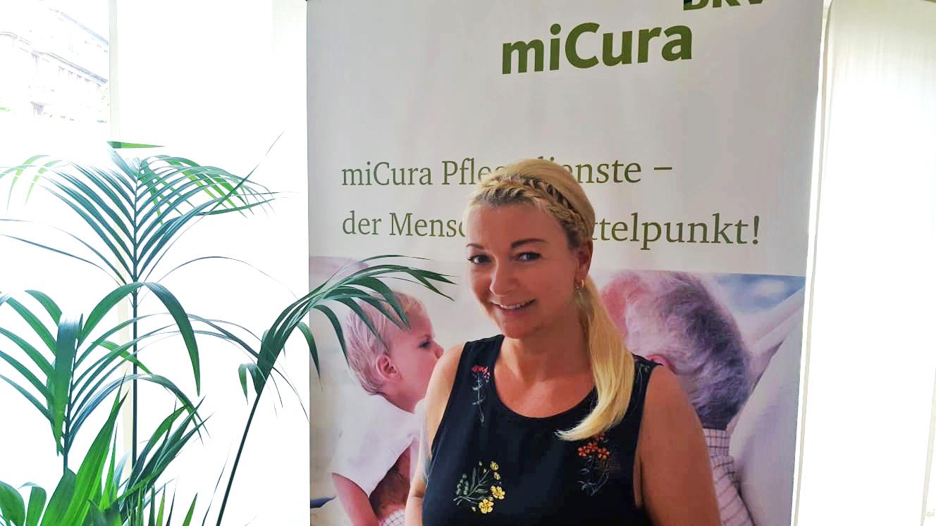 Expertin und Pflegedienstleiterin Katharina Adamczyk
