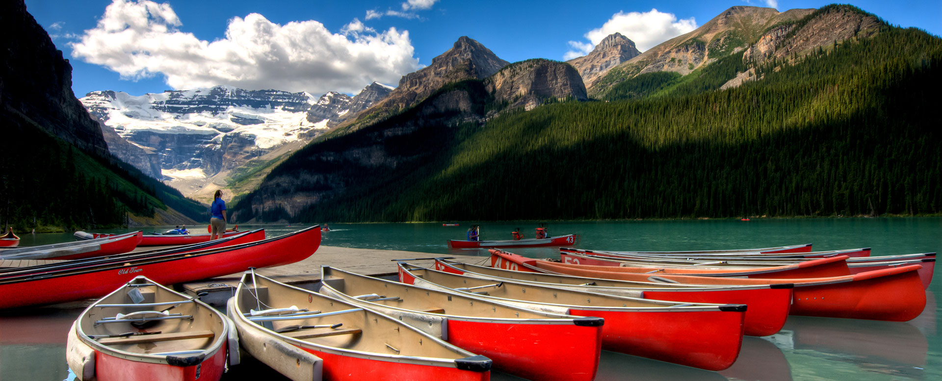Kanada - Berge und Seen