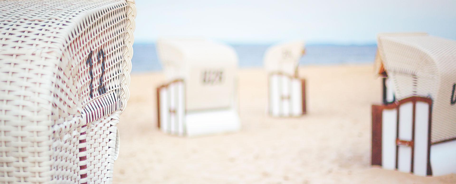 Usedom - Strand und Strandkörbe