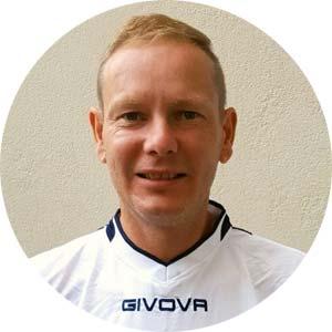 Fußballtrainer Frank Halmanseder