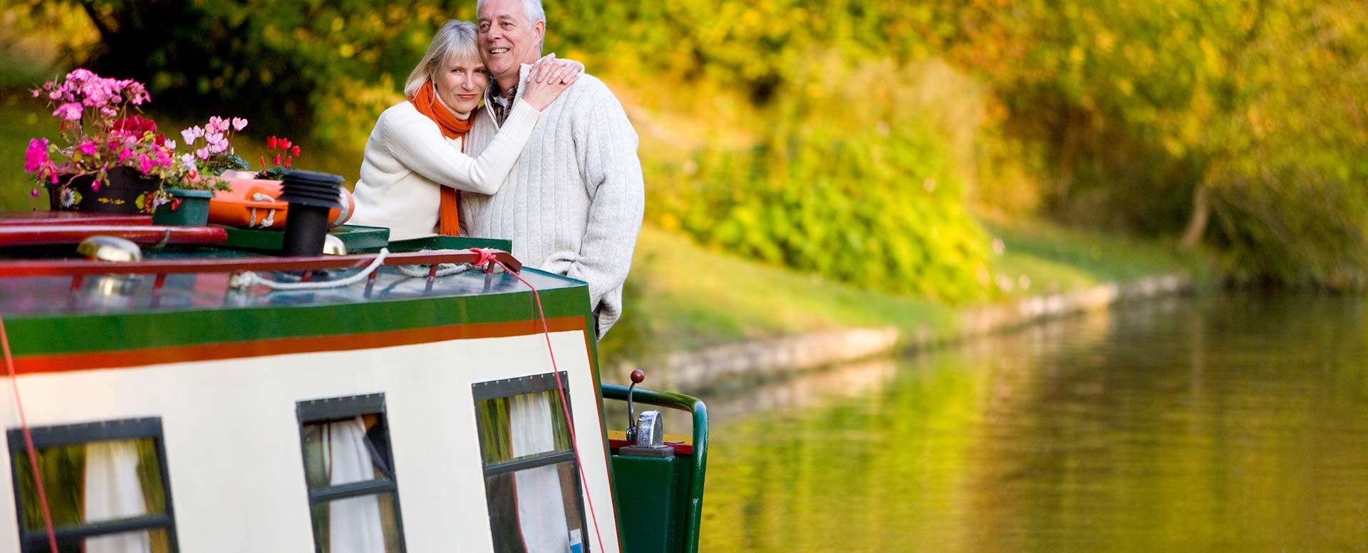 Urlaub auf Hausboot