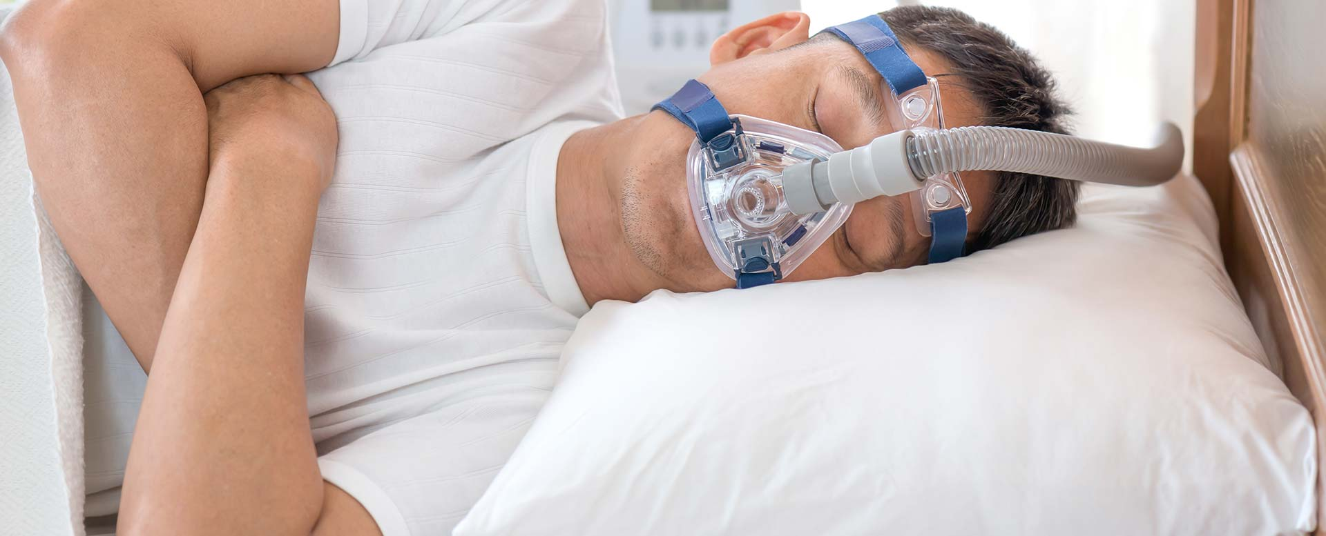 Schlafapnoe - Schlafen mit Beatmungsgerät