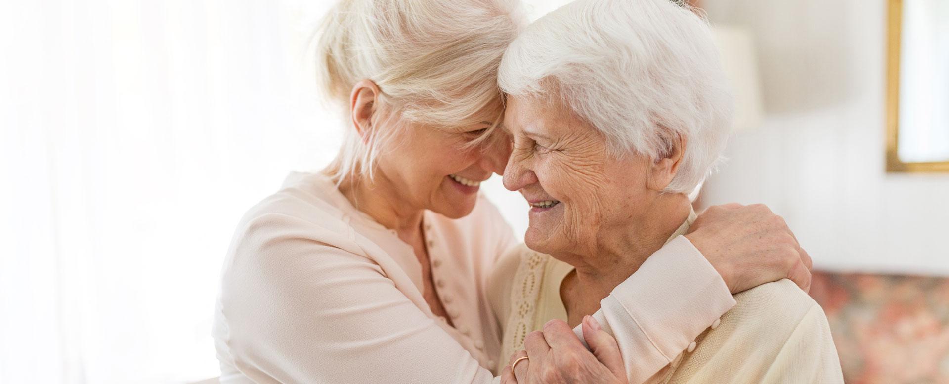 Demenzpflege - Angehörige respektvoll pflegen