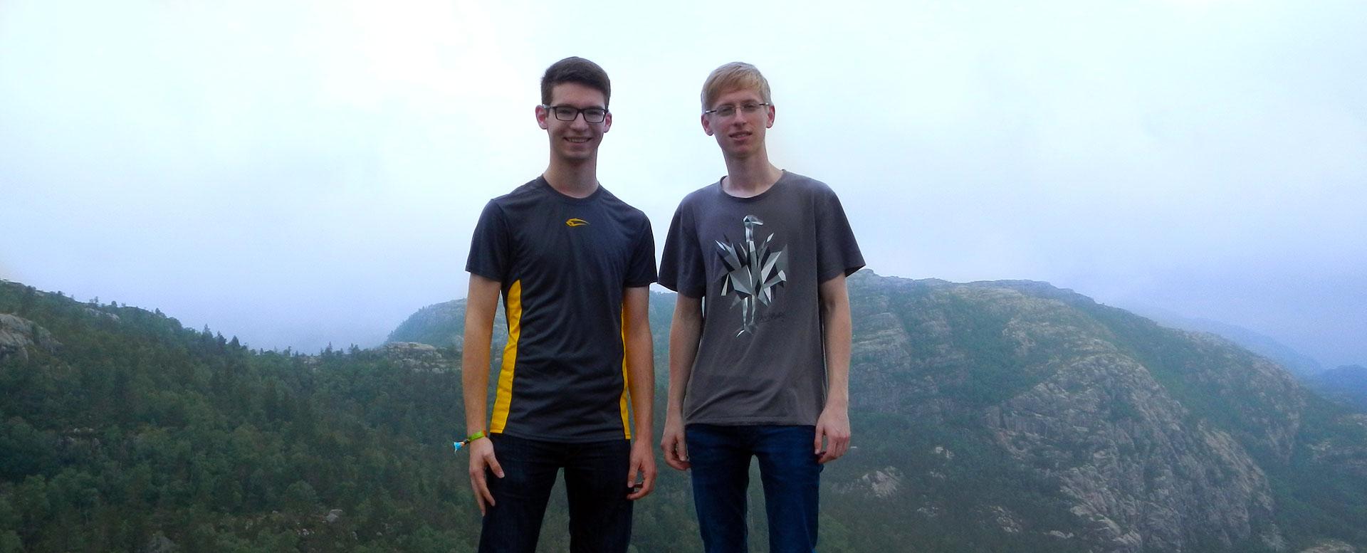 Christian und Lukas reisten per Interrail durch Skandinavien