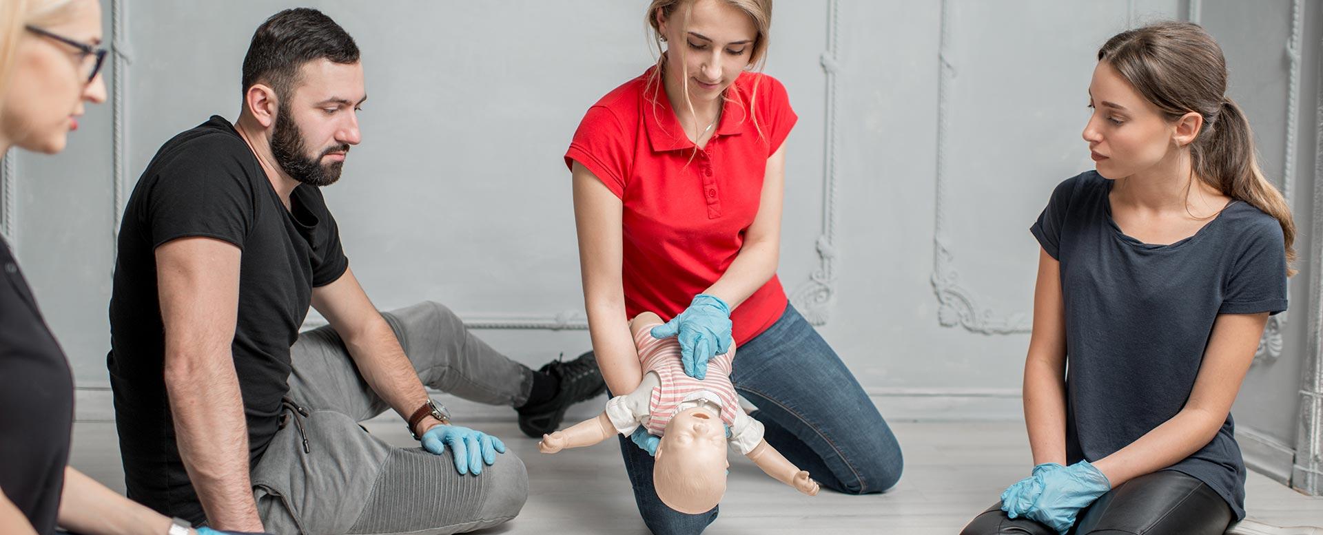 Heimlich-Manöver Baby